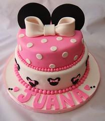 Minnie (Mariana Pugliese) Tags: pink blanco cake negro rosa mini disney mickey minnie feliz cumpleaños torta mariana juana pisos corazones lunares pugliese orejas decorada 2pisos 241543903 marianapugliese pugliesem