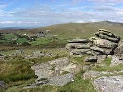Over Tor view to Merrivale Dartmoor Devon (Bridgemarker Tim) Tags: dartmoor tors rockpiles quarries outcrops lesserknowntors