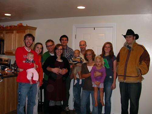Oct 7 2010 Collin & Sara Dean, Eric & Hanna Caldwell, Lee Ruth Elden, Chelsie & Damon Robertson
