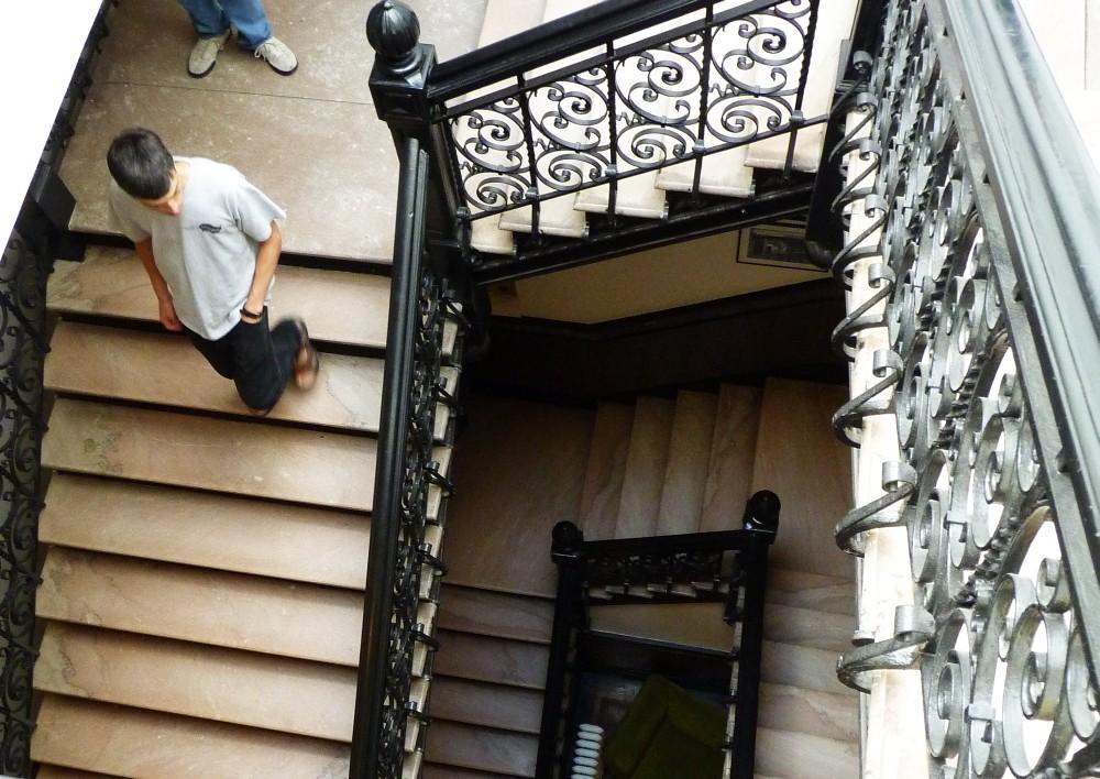 Stuyvesant Polyclinic Stairs
