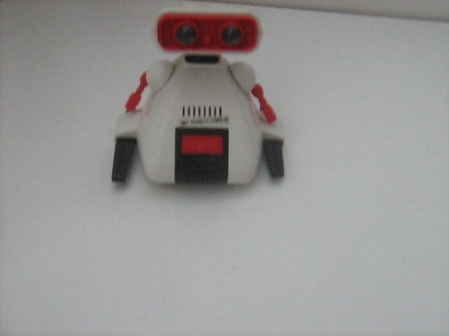 Tomy Toys: 'My Robot OMS-B' (More Commonly Known as Dingbot) Robot Toy - 1 of 2