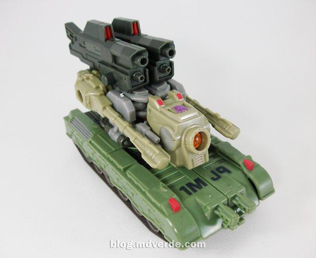 Transformers Brawl Universe Scout - modo alterno