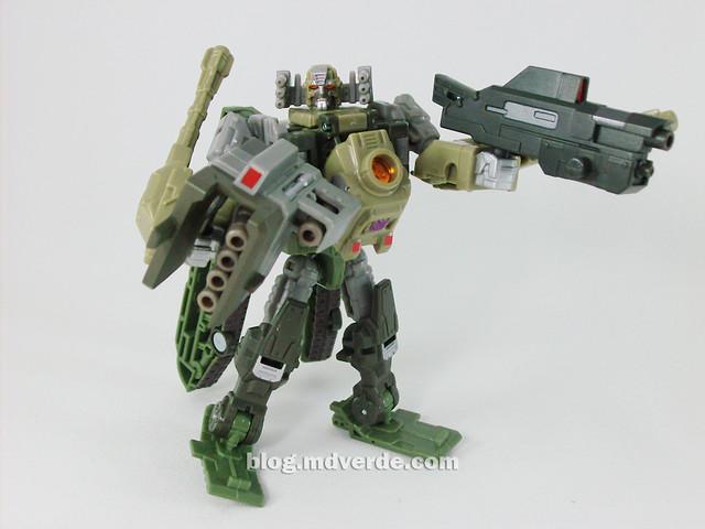 Transformers Brawl Universe Scout - modo robot