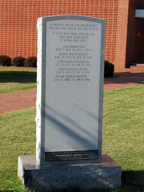 Johnson Co. Law Enforcement Memorial