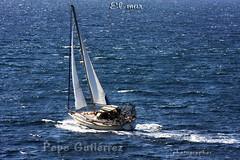 "05.- EL MAR: Navegando de travs. (CODIGO DE LUZ ""El Fotgrafo"") Tags: azul mar agua barcos vela mediterrneo atlntico velero navegacion estrechodegibraltar pepegutirrez fretohercleo cdigodeluz pgutirrez navegandodetravs"