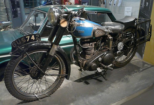 1954 BSA 250 by velton