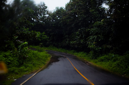 Awash roads on the way back, Athirapally, Chitra Aiyer Photography