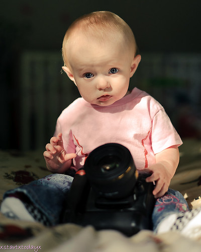 Photographer in Training