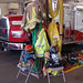 Firefighter gear on display