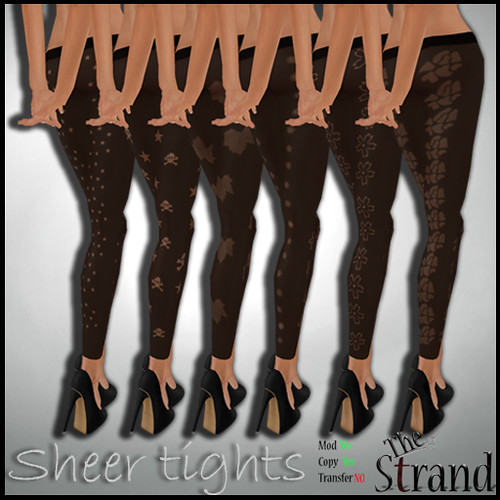 The Strand - Sheer Tights ad