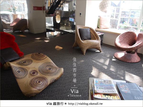 【台南住宿】佳佳西市場旅店~充滿特色的風格旅店!37