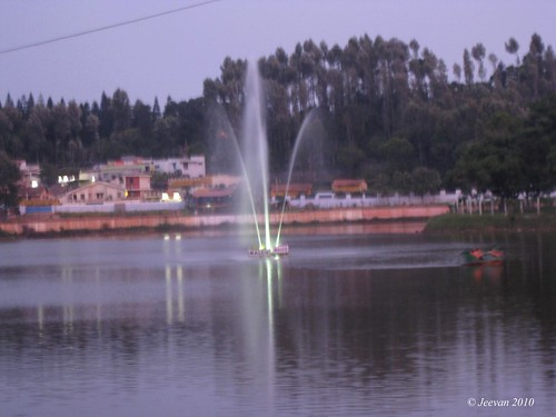 dazzling fountain