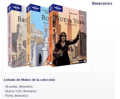 Lonely Planet - Itinerarios
