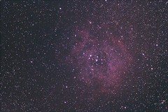 Rosette Nebula (mtibor64) Tags: nebula astrophotography astronomy telescopes rosette Astrometrydotnet:status=solved Astrometrydotnet:version=14400 at72ed Astrometrydotnet:id=alpha20101042575780