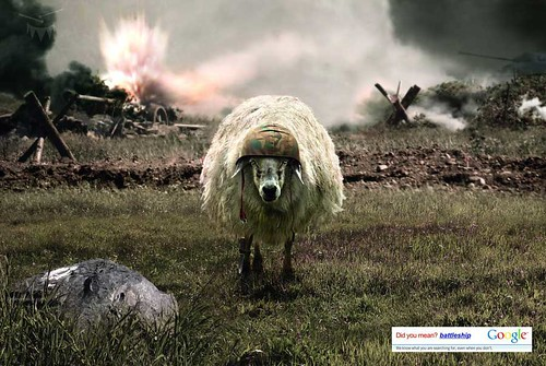 google-sheep-ad