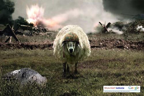 google-sheep-ad