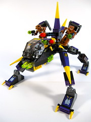 Exo-Force Dark Panther (WEBmikey) Tags: toys lego exoforce