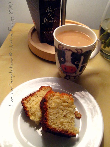 Lemon and Poppyseed Cake with a Cuppa