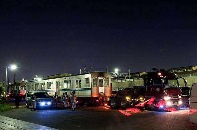 東京メトロ東西線05系05-108F 05-008,908 川崎港へ陸送