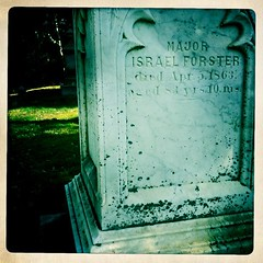 war'ing it up! (zack vella) Tags: old grave graveyard boston stone yard israel major 4 hipster forester 1863 iphone hipstermatic