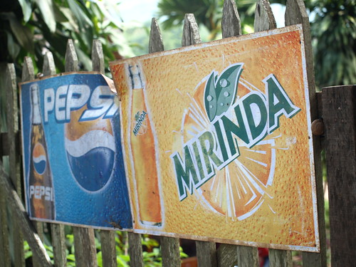 Mirinda en Luang Prabang