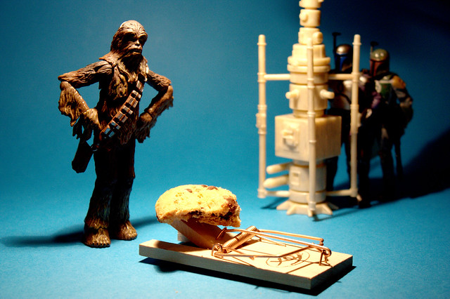 Catch a Wookiee with a Cookie