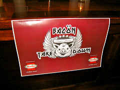 Bacon Takedown (emmastory) Tags: nyc food newyork brooklyn bacon gothamist bellhouse thebellhouse brooklynbacontakedown bacontakedown
