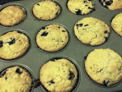 78/365 Blueberry Muffins
