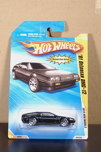 Mattel Hot Wheels - DeLorean DMC-12