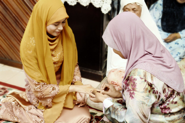 Zamiah's engagement