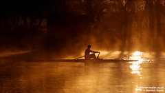 Sculling in the Mist (Hamish Roots) Tags: cambridge mist water misty bristol spain blues steam rowing eight scull trainingcamp banyoles sculling blueboat rowingcamp