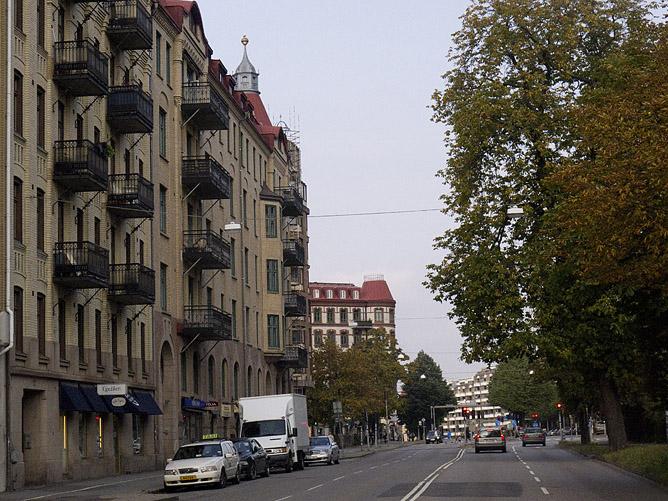 Nu Övre Husargatan