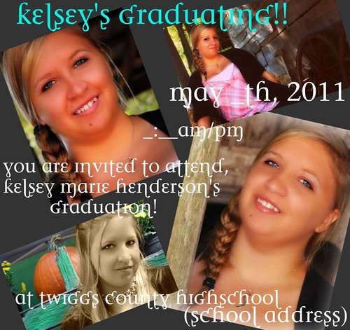 Kelsey's invitation ideas 2