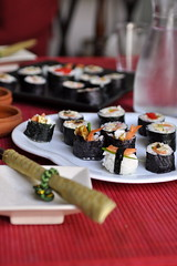 Sushi DIY (AV4TAr) Tags: sushi lunch diy rice 2010 caviar d90 slamon av4tar