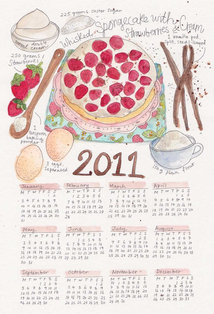 Strawberry shortcake Calendar!