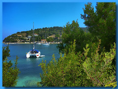 Lakka Harbour at Paxos island ... HDR (Emil9497 Photography & Art) Tags: hellas panasonic greece paxos paxi ioniansea laka lakka coth supershot eptanisa theunforgettablepictures concordians  newgoldenseal dmczx1 panasonicdmczx1 lakaharbour