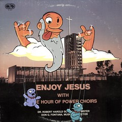 Enjoy Jesus (Question Josh? - SB/DSK) Tags: cloud church illustration choir painting paint acrylic puppet god album jesus josh enjoy question record questionjosh
