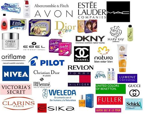 Productos NO testados en animales. Prefieran estas marcas ...