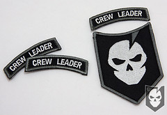 Crew Leader Rocker Patch