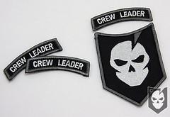 Crew Leader Rocker Patch