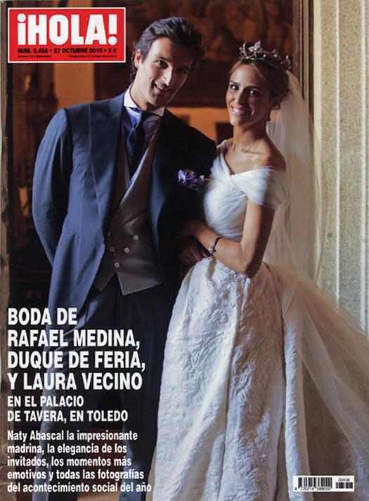 w.f: boda rafael medina y laura vecino ideas para bodas - macarena gea