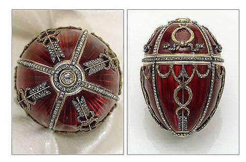 004-Huevo capullo de rosa 1895-Faberge