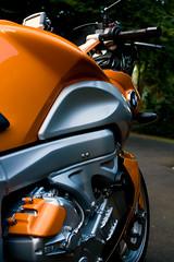 My lovely orange BMW K1200R (Peter Hillhagen) Tags: orange bike mc bmw motorcycle motorcykel k1200r