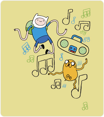 Adventure Time T-shirt Image