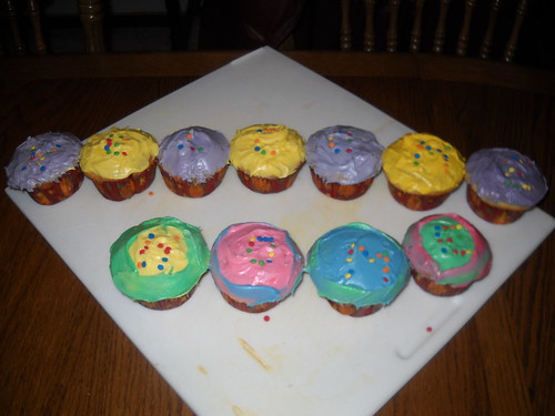Welcome home cupcakes