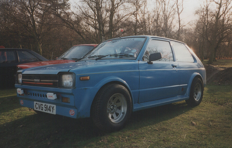 1982 Toyota Starlet 1.0(?!) c.1996/97