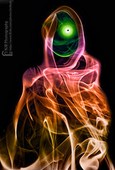 Evil Laughs (bnilesh) Tags: halloween photography smoke evil