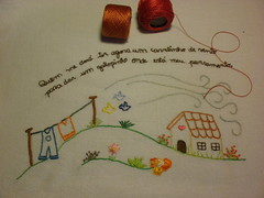 Lembra desenho de criança.. (soniapatch) Tags: embroidery bordado
