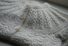 (- Anne M.) Tags: white lana wool jacket bebe knitted chaqueta babyull jakke