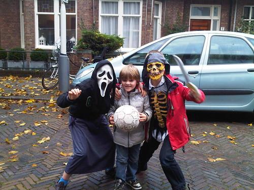 Halloween en voetbal